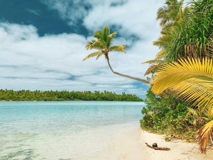 Aitutaki Beach in the Cook Islands