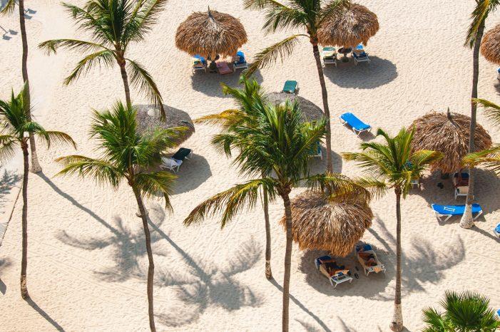 Beach scene in Bonaire