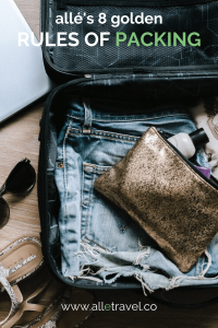 Best packing tips from allé travel!