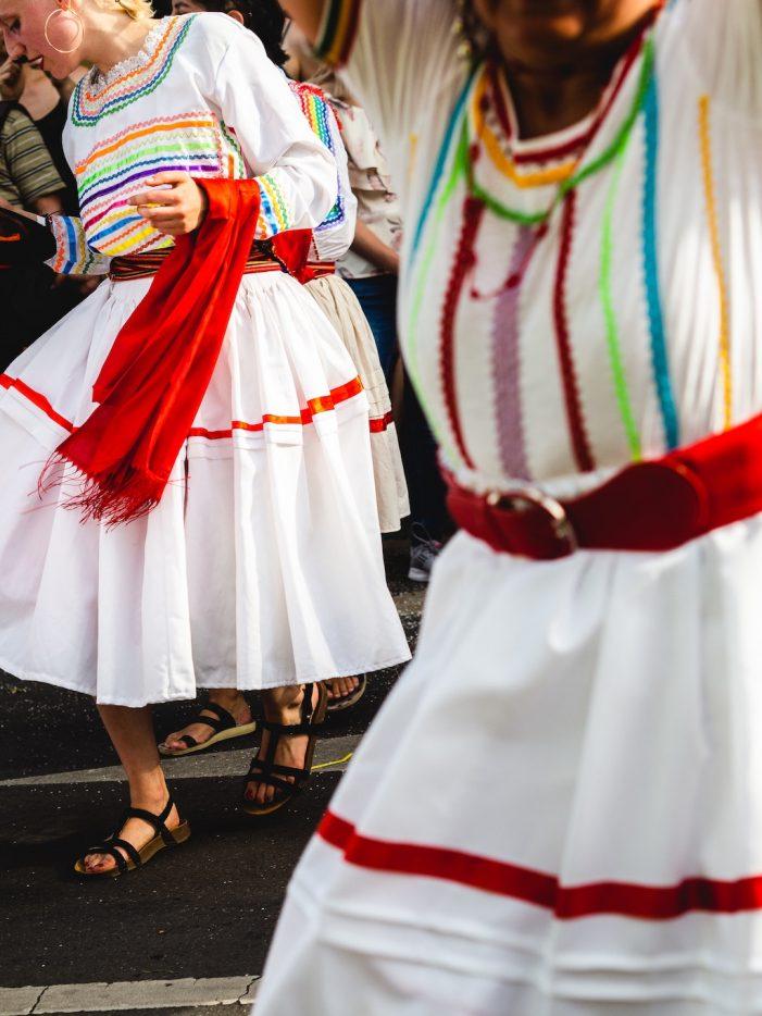 Dancers in Bolivia