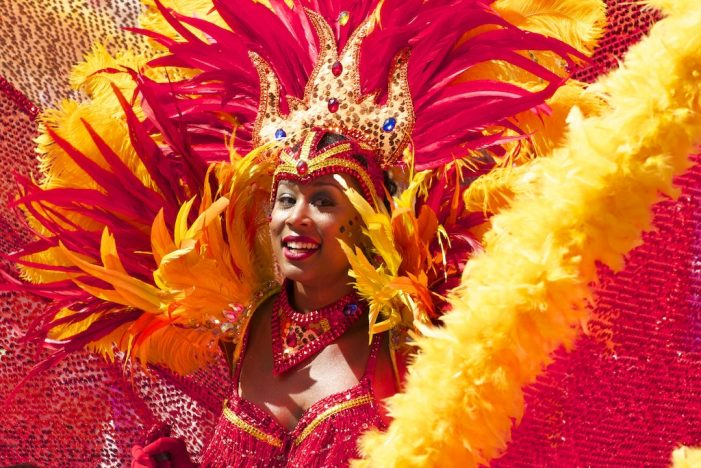 Carnival Dancer in Rio de Janeiro