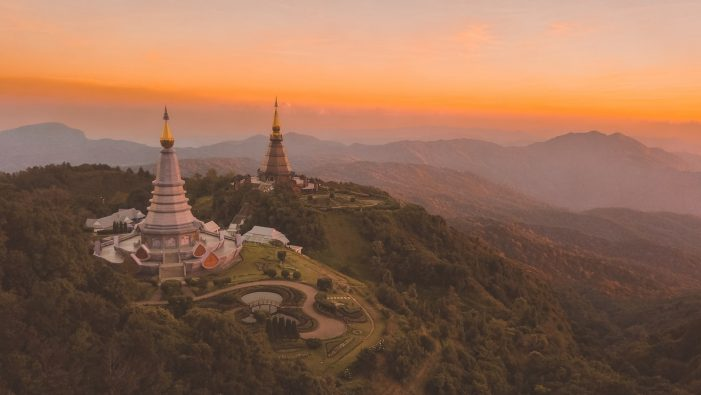 Thailands highest mountain