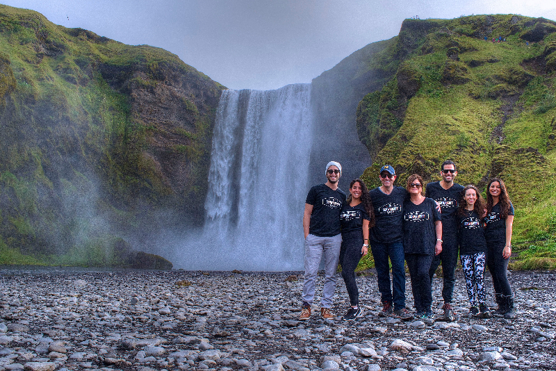 Family adventure in Iceland_ waterfalls