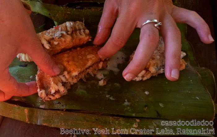 Eating_beehive_reasons_to_visit_cambodia
