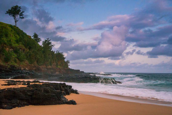 Kauapea Beach, Hawaii