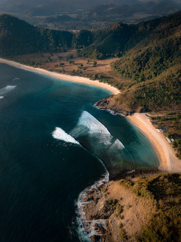 Lombok from above