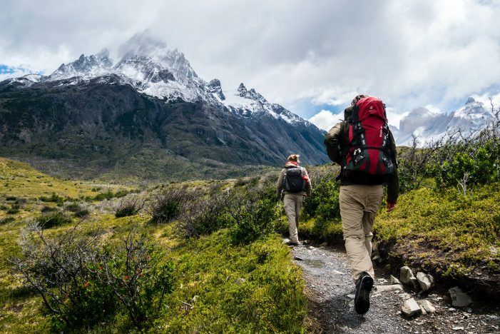 Travel more sustainably by hiking and respecting nature