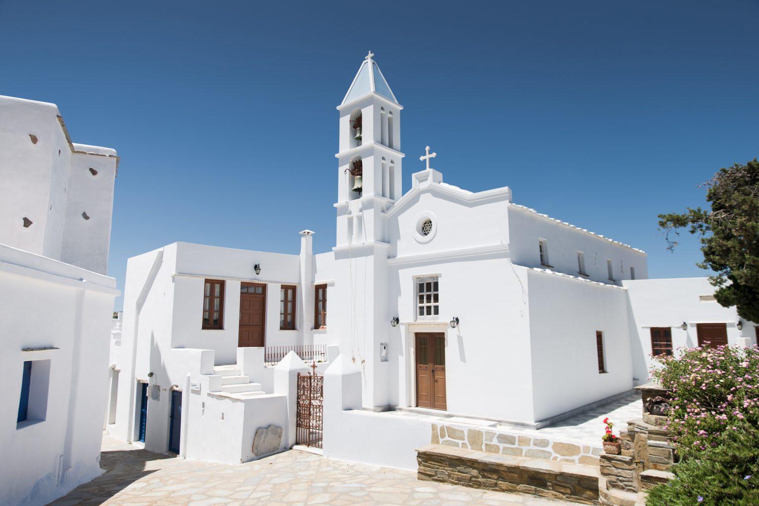 church in tinos