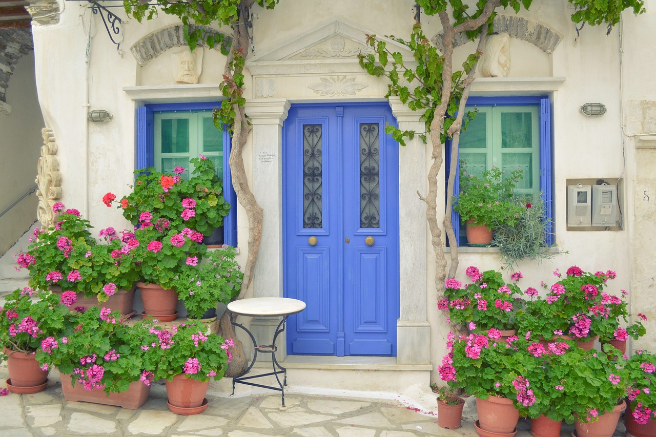 local home in Tinos Greece