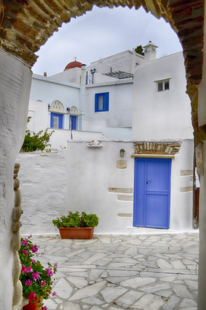 Greek architecture in Tinos