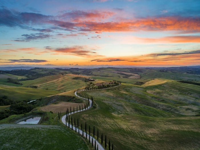 Relaxing honeymoon in Italy - Tuscany