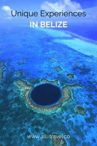 Unique Experiences in Belize